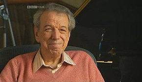 Screenshot of Rod Temperton, taken from a BBC Television programme, last broadcast on BBC Four
