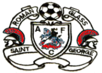 Roman Glass St George F.C. - Image: Roman Glass St George F.C. logo