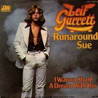 Runaround Sue - Image: Runaround Sue Leif Garrett
