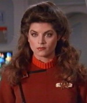 Saavik - Lt. J.G. Saavik as portrayed by Kirstie Alley in Star Trek II: The Wrath of Khan