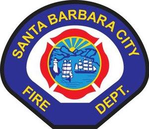 Santa Barbara Fire Department - Image: Santa Barbara City Fire Department Logo