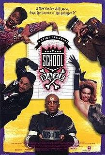 <i>School Daze</i> 1988 film by Spike Lee
