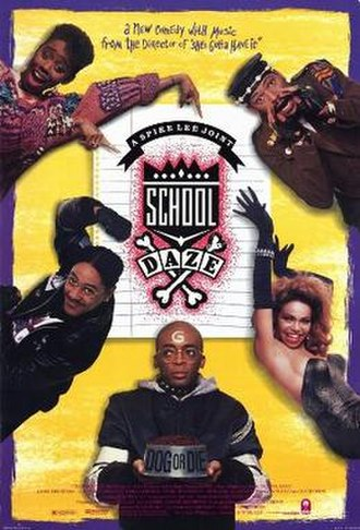 School Daze - Theatrical release poster