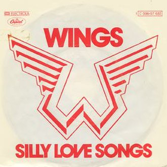Silly Love Songs - Image: Silly Love Songs (Wings single cover art)