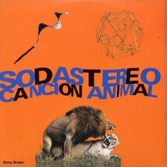 Canción Animal - Image: Soda Stereo Cancion Animal