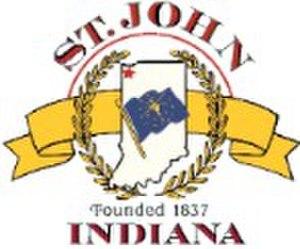 St. John, Indiana - Image: St John Indiana Logo