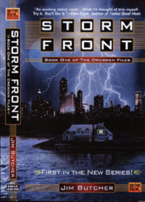 Storm Front (The Dresden Files) - Image: Storm Front