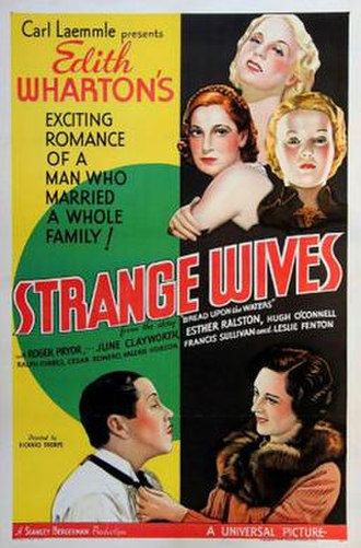 Strange Wives - Theatrical release poster