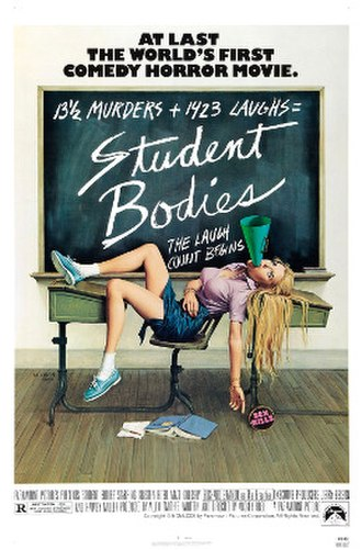 Student Bodies - Theatrical release poster
