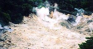 Qualibou - Image: Sulphur Springs 2003