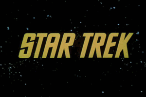 Star Trek title card (Seasons 1 and 2).
