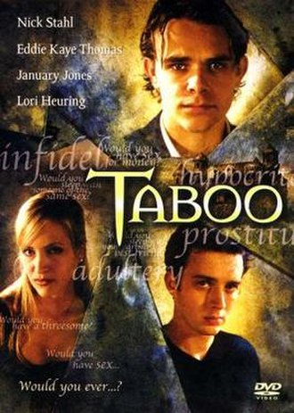 Taboo (2002 film) - Image: Taboo (2002 poster)