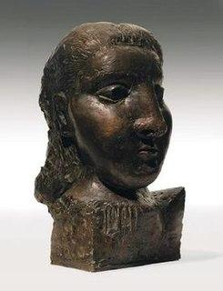 <i>Tete de femme</i> (<i>Dora Maar</i>) sculpture by Pablo Picasso