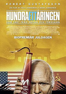 <i>The 101-Year-Old Man Who Skipped Out on the Bill and Disappeared</i> 2016 Swedish comedy film