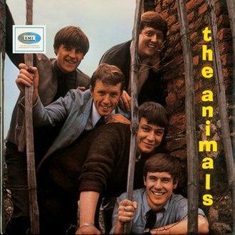 The Animals (British album) - Image: The Animals (British album)