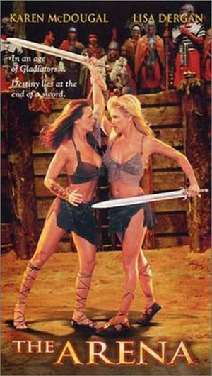 The Arena (2001 film) - Cover image of VHS cassette