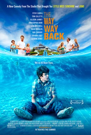 The Way, Way Back - Theatrical release poster
