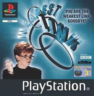 Weakest Link (video game) - Image: The Weakest Link PSX