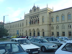 The train station.Iasi-Romania.JPG