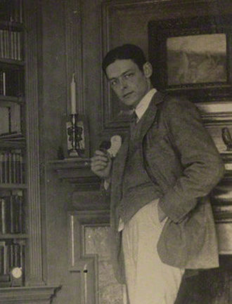 Journey of the Magi - T. S. Eliot in 1920, in a photo taken by Lady Ottoline Morrell