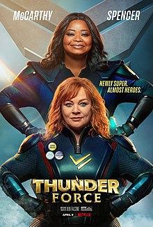 Thunder Force 2021 USA Ben Falcone Melissa McCarthy Octavia Spencer Jason Bateman  Action, Adventure, Comedy
