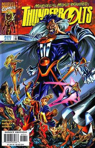 Graviton (comics) - Image: Thunderbolts 17 cvr