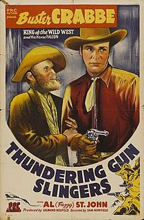 <i>Thundering Gun Slingers</i> 1944 film directed by Sam Newfield