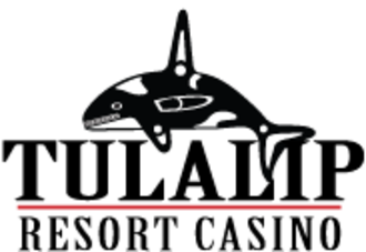 Tulalip Resort Casino - Image: Tulalip Resort Casino whale logo with black letters