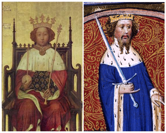 Dyptrych of King Richard II and Henry IV