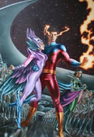 Vulcan (Marvel Comics) - Image: Uncannyxmen 483 large