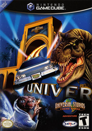 Universal Studios Theme Parks Adventure - North American cover art