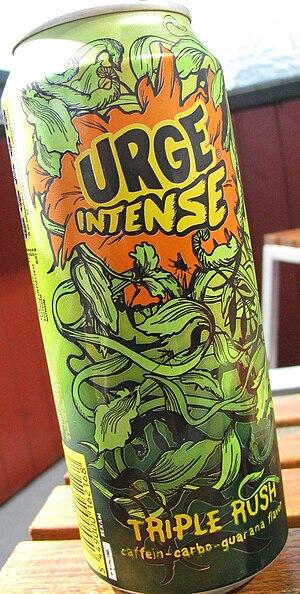 Urge (drink) - Urge Intense: Energy drink variant of Urge