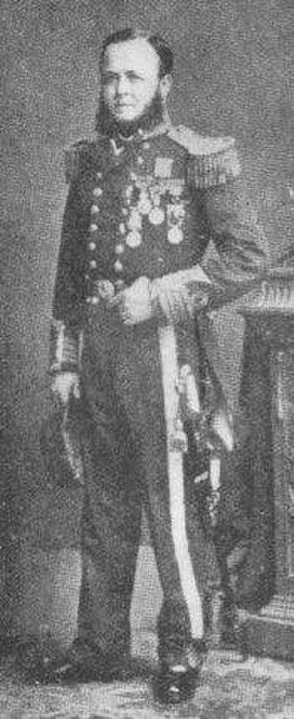 Hugh Burgoyne - Captain Hugh Talbot Burgoyne, VC RN
