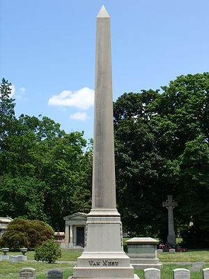 Van Nest, Bronx - Van Nest family plot in Woodlawn Cemetery