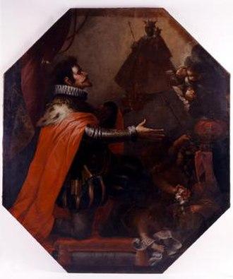 Andrés Amaya - Image: Virgen apareciéndose a Fernando III el Santo
