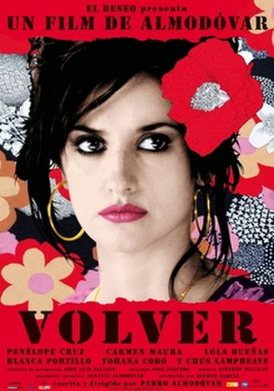 Volver - Theatrical release poster