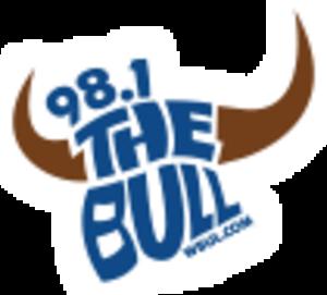 WBUL-FM - Image: WBUL 98.1The Bull logo