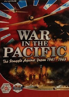 <i>War in the Pacific</i> (video game)