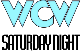 WCW Saturday Night - The WCW Saturday Night logo as it looked like from 1994 to 1999.
