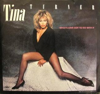 Whats Love Got to Do with It (song) 1984 single by Tina Turner