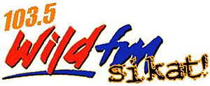 DYCD - Wild FM logo from 2000 to 2010