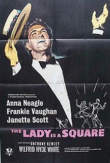 <i>The Lady Is a Square</i> 1959 film by Herbert Wilcox