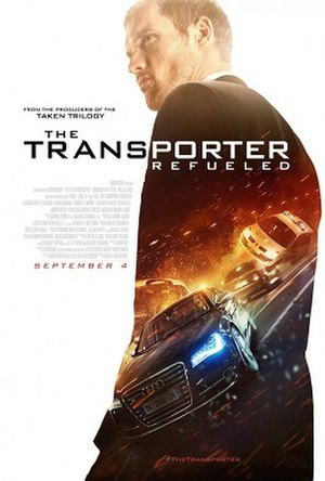 The Transporter Refueled - Theatrical release poster