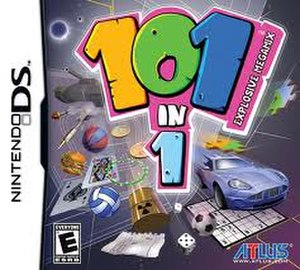 101-in-1 Explosive Megamix - Box art