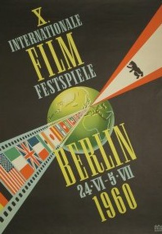 10th Berlin International Film Festival - Festival poster