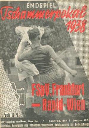 1938 Tschammerpokal Final - Image: 1938 Tschammerpokal Final programme