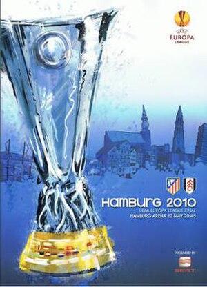 2010 UEFA Europa League Final - Image: 2010 UEFA Europa League Final programme