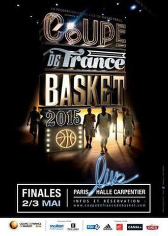 2014–15 French Basketball Cup - Image: 2014–15 French Basketball Cup
