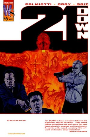 21 Down - Image: 21Down 06 cover