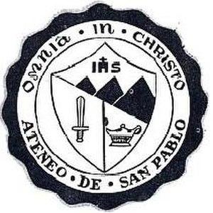 Ateneo de San Pablo - Image: ASP seal 1975